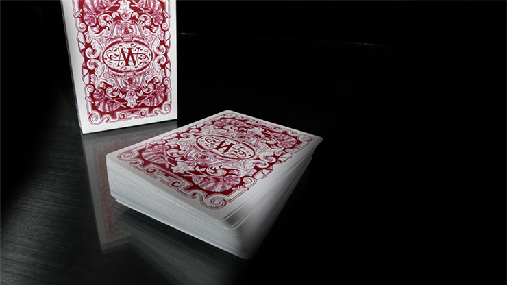 Chameleon Playing Cards (Red) by Expert Playing Cards