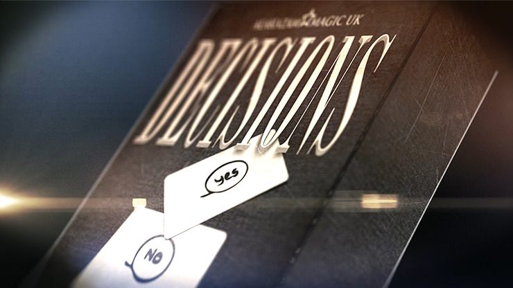 Decisions Blank Edition by Mozique - DVD