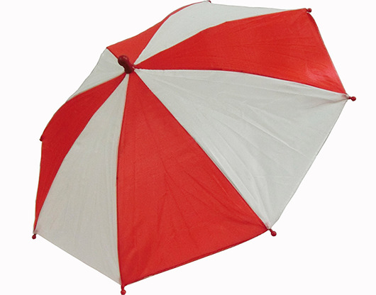 Flash Parasols (Red & White) 4 piece set by MH Production