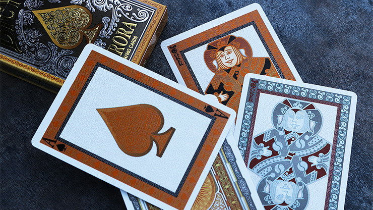 Bicycle Aurora Playing Cards by Collectable Playing Cards