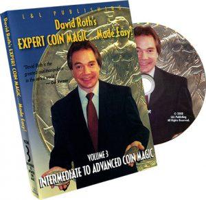 David Roth Intermediate-Advanced Coin Magic - DVD