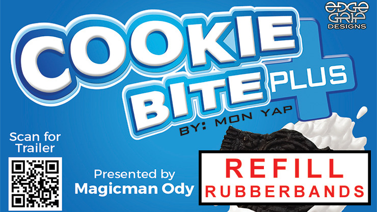 Spare Rubberbands for Cookie Bite Plus (10 pieces)