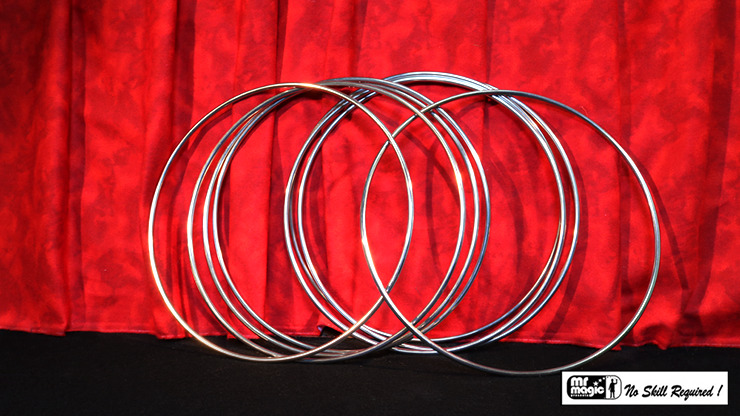 12 inch Linking Rings SS (8 Rings) by Mr. Magic