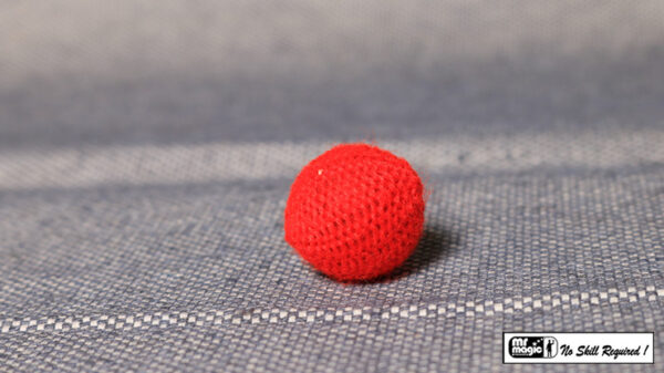 Crochet Ball .75 inch Single (Red) by Mr. Magic