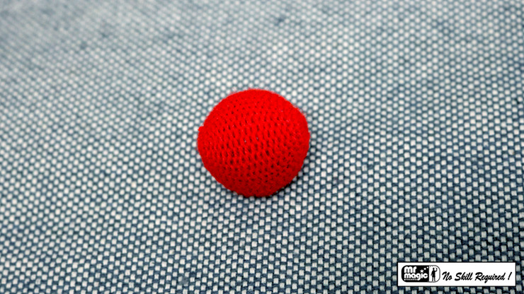 Crochet Ball 1 inch Single (Red) by Mr. Magic