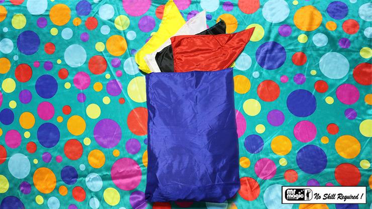 Bag to Happy Birthday Silk (36 inch x 36 inch) by Mr. Magic