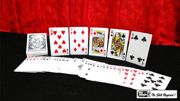 Six Card Repeat by Mr. Magic