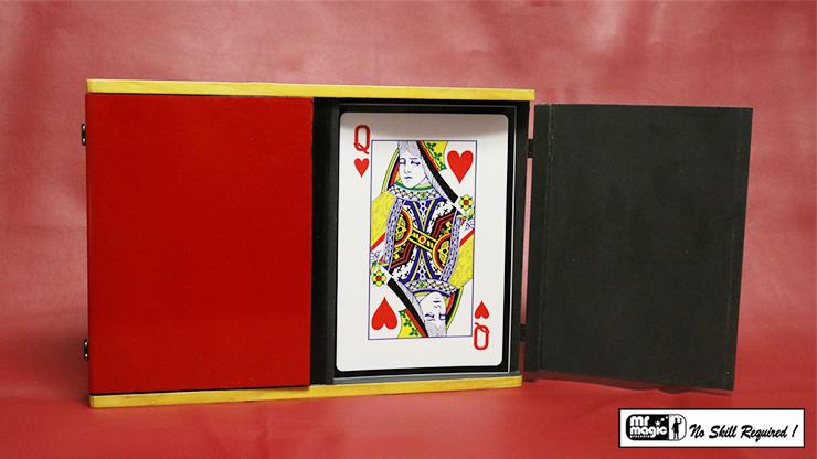 Sucker Card Box Jumbo by Mr. Magic