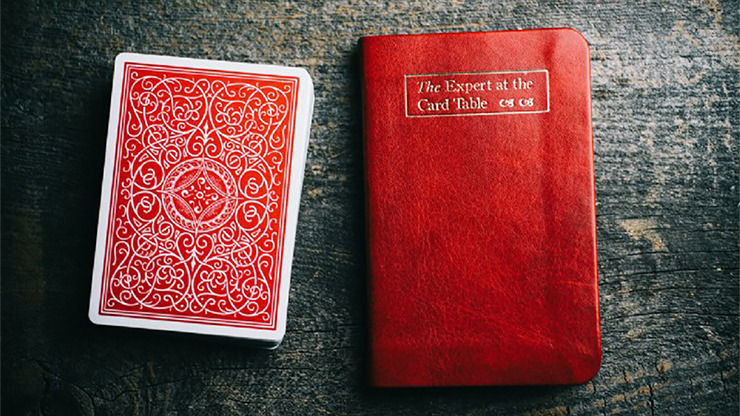 Pocket The Expert at the Card Table by Erdnase (Red) - Book