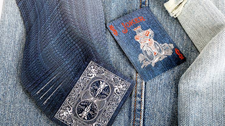 Bicycle Denim Playing Card by Collectable Playing Cards