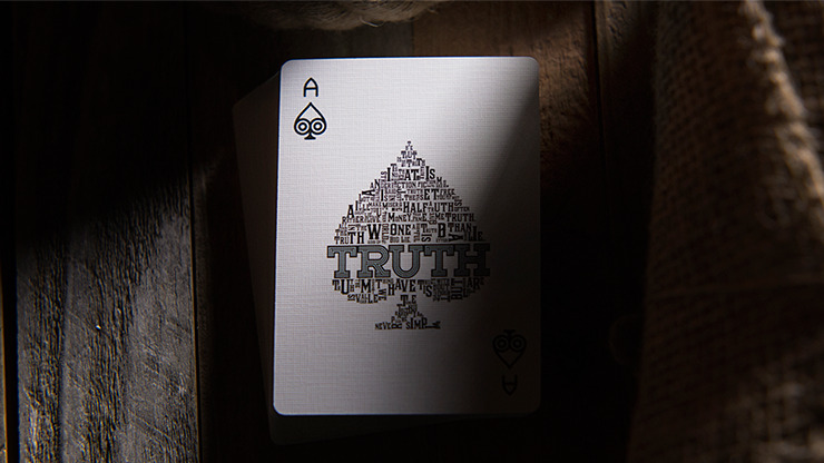 Truth Playing Cards (Lies are Convenient)