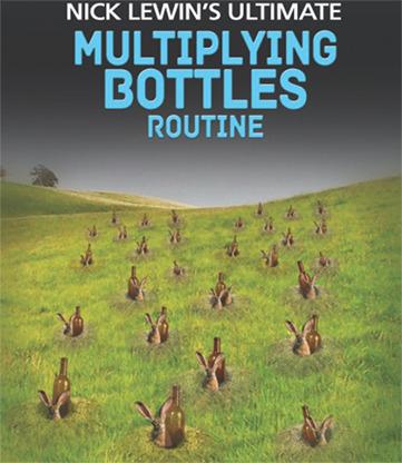 Nick Lewin's Ultimate Multiplying Bottles Routine - DVD