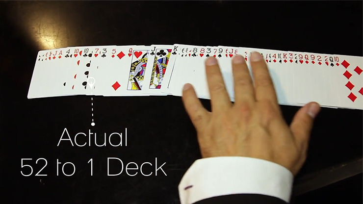 The 52 to 1 Deck Blue by Wayne Fox and David Penn