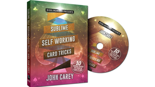 Sublime Self Working Card Tricks by John Carey - DVD