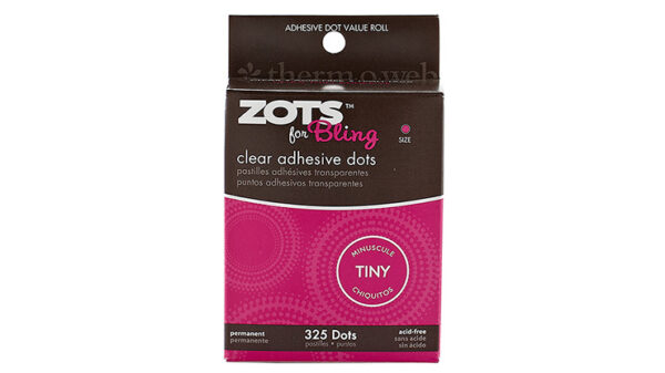 Sticky Dots Tiny (1/8 inch Diameter) Roll of 325