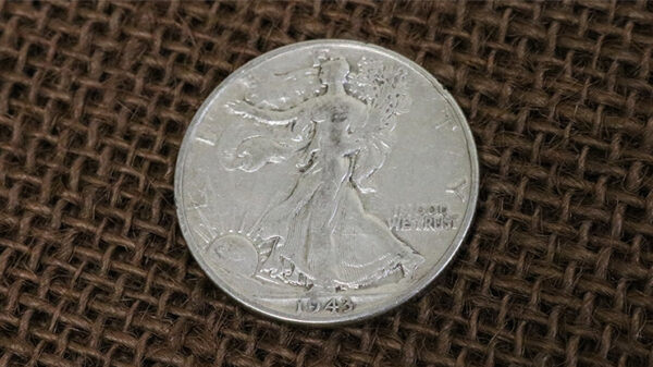Walking Liberty Half Dollar Single Coin (Ungimmicked)
