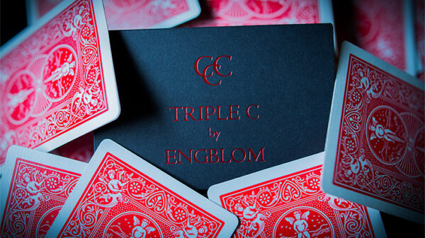 Triple C (Red Gimmicks and Online Instructions) by Christian Engblom