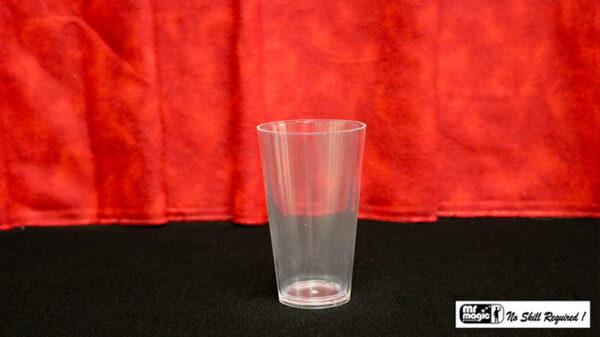 Comedy Glass in Paper Cone by Mr. Magic