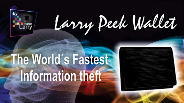 The Larry Peek Wallet (Gimmick and Online Instructions) by Mago Larry