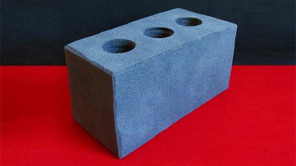 Sponge Cement Brick by Alexander May