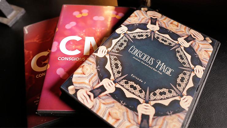 Conscious Magic Trilogy (Vol 1 thru 3) with Ran Pink and Andrew Gerard - DVD