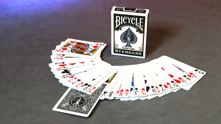 Invisible Deck Bicycle (Black)