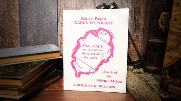 Patrick Page's Cards to Pocket by Lewis Ganson - Book