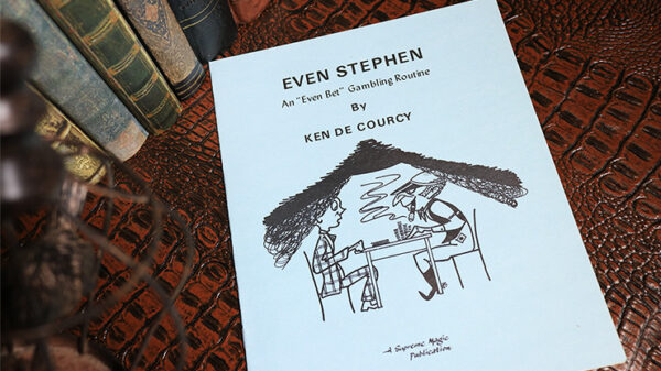 Even Stephen by Ken de Courcy - Book