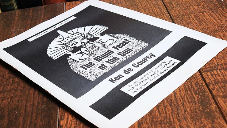The Blood Fest of the Sun by Ken De Courcy - Book