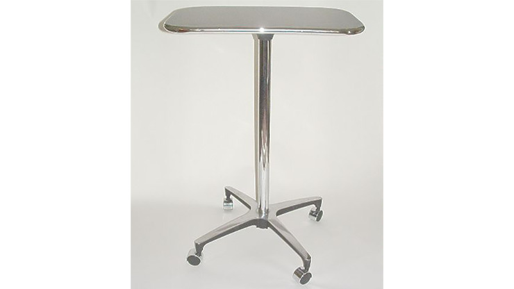 The Table the World Awaited (Chrome) by Rich Hill