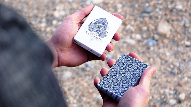 Vitreous Playing Cards by R.E. Handcrafted