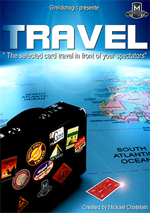 TRAVEL (Blue) by Mickael Chatelain