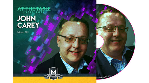 At The Table Live John Carey - DVD
