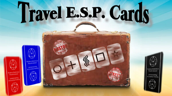 Travel ESP Cards Black by Paul Carnazzo