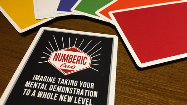 Numberic Cards by Taiwan Ben