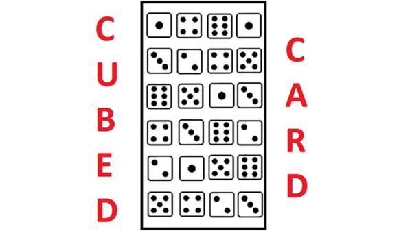 Cubed Card by Catanzarito Magic