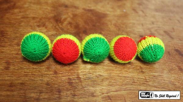 "Crochet 5 Ball combo Set (1""/Multi Color) by Mr. Magic"