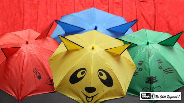 Umbrellas from Handkerchief by Mr. Magic