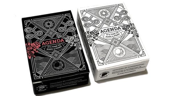 Mini Agenda Playing Cards (Black)