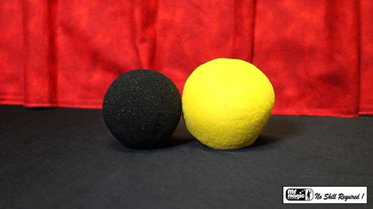 Ball To Dice (Yellow/Black) by Mr. Magic