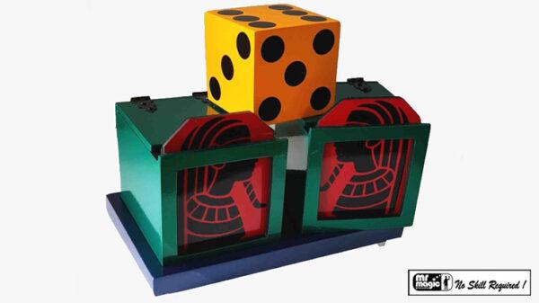 Split Die Box by Mr. Magic