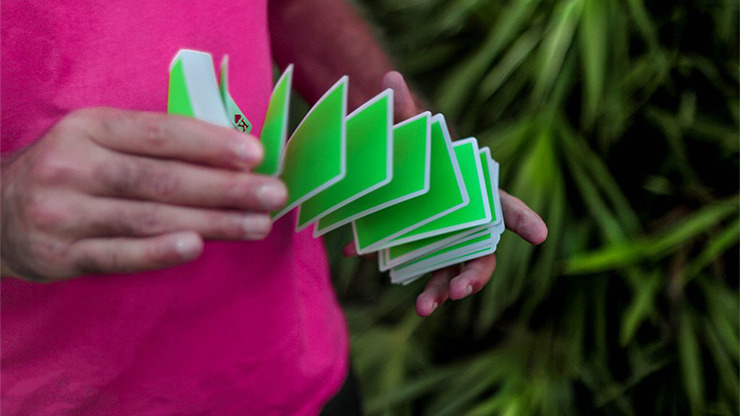 NOC Sport Playing Cards (Green) by The Blue Crown