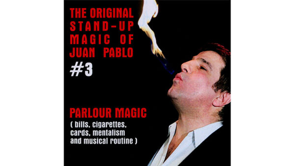 The Original Stand-Up Magic Of Juan Pablo Volume 3 by Juan Pablo - DVD
