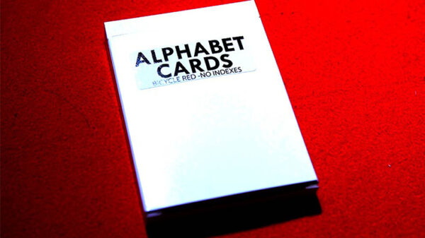 Alphabet Playing Cards Bicycle No Index by PrintByMagic