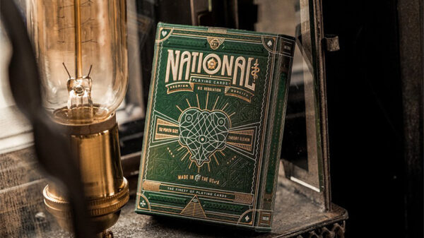 Green National Playing Cards by theory11