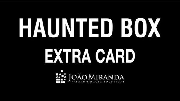 Haunted Box Extra Gimmicked Card (Blue) by João Miranda Magic