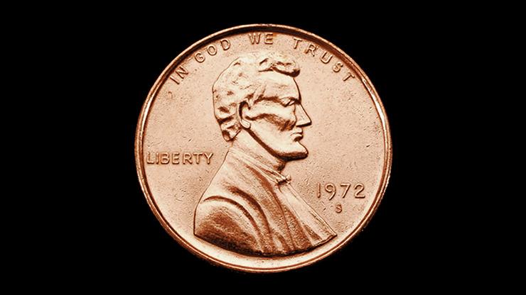 JUMBO 3 inch Penny