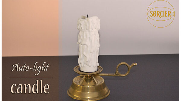 Auto-light Candle with Remote Control by Sorcier Magic