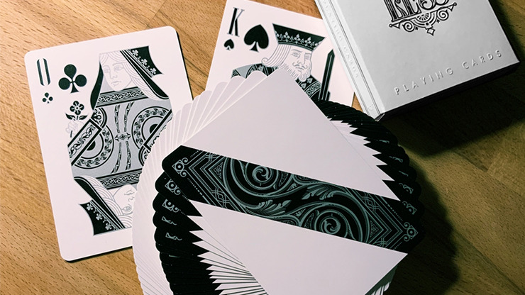 Less Playing Cards (Silver) by Lotrek