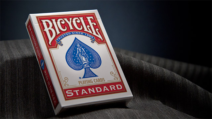 Bicycle Standard Playing Cards in Mixed Case Red/Blue(12pk)with individual hang tabs on deck by USPCC